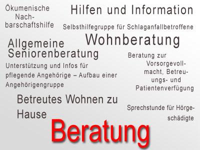 Seniorentreff Starnberg Beratung